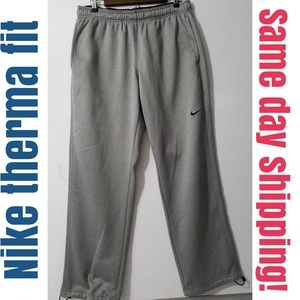 Nike Therma Fit Pant Gray Size L